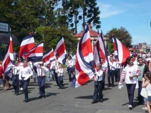 Independence Day Parade Moravia Costa Rica