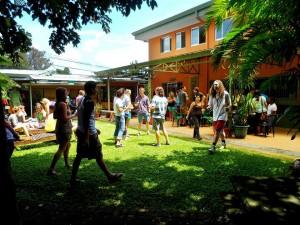 Courtyard at San Jose, Costa Rica Spanish School